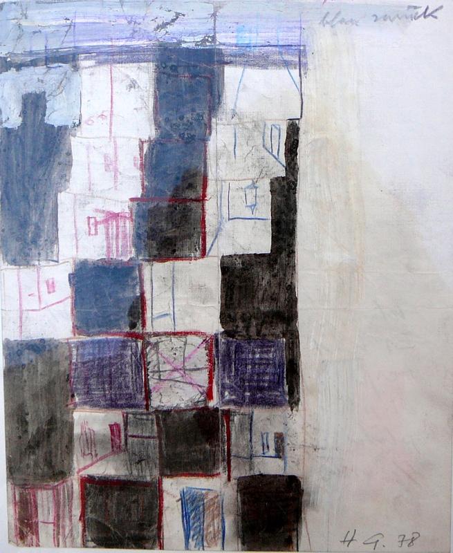Skizze II (zu Rot hin Blau zurück)
