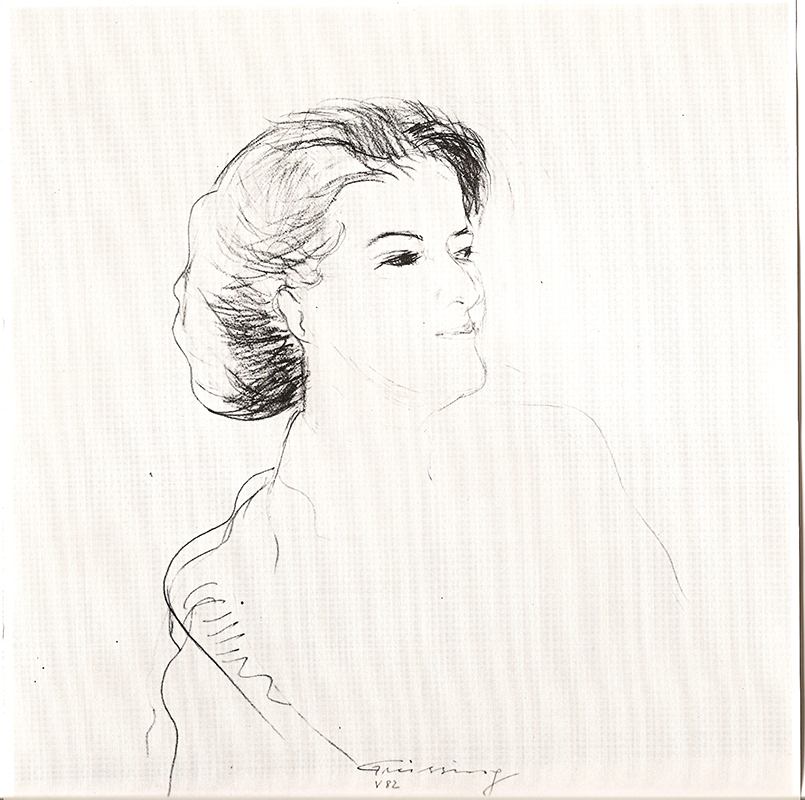 Zeichnung M L F, 1982